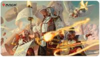 Strixhaven: Playmat  Lorehold Command